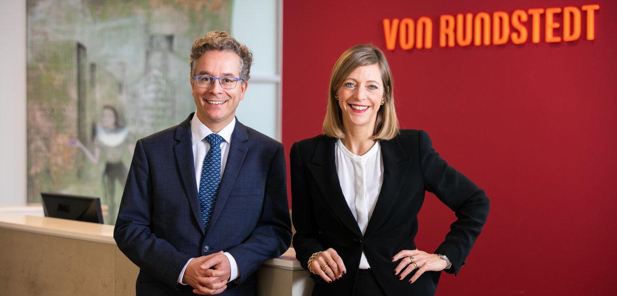 Dr. Martin Mertes und Sophia von Rundstedt